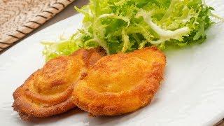 Huevos rellenos con bechamel de queso - Karlos Arguiñano en tu cocina