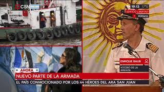 Video Nuevo parte de la Armada por la desaparición del submarino ARA San Juan download MP3, 3GP, MP4, WEBM, AVI, FLV November 2017