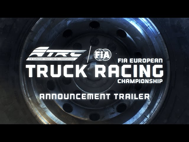 European Truck Racing Championship | Announcement Trailer