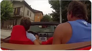 Best Douchebags Show Off Fail Compilation I Corvette Vs. Ferrari