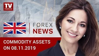 InstaForex tv news: 08.11.2019:  RUB to end week lower (Brent, USD/RUB)