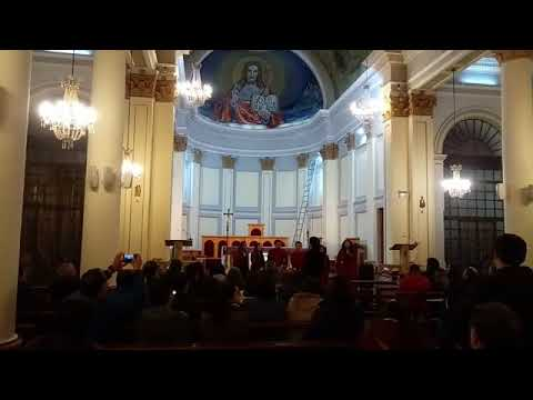 Concierto Coral en la catedral de Punta Arenas Semana Santa 2018