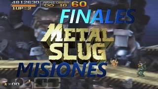 Las Misiones Finales Mas Dificiles De Metal Slug