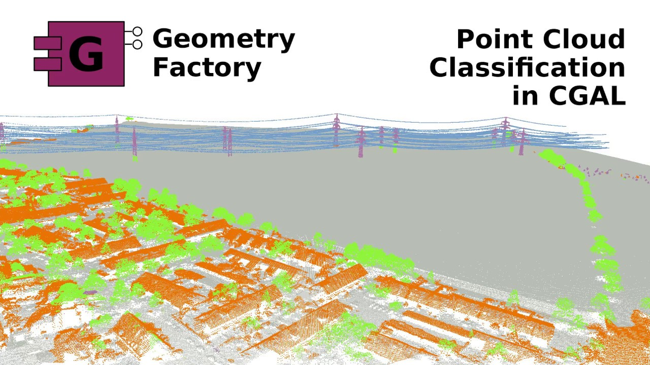 Point Cloud Classification   GeometryFactory