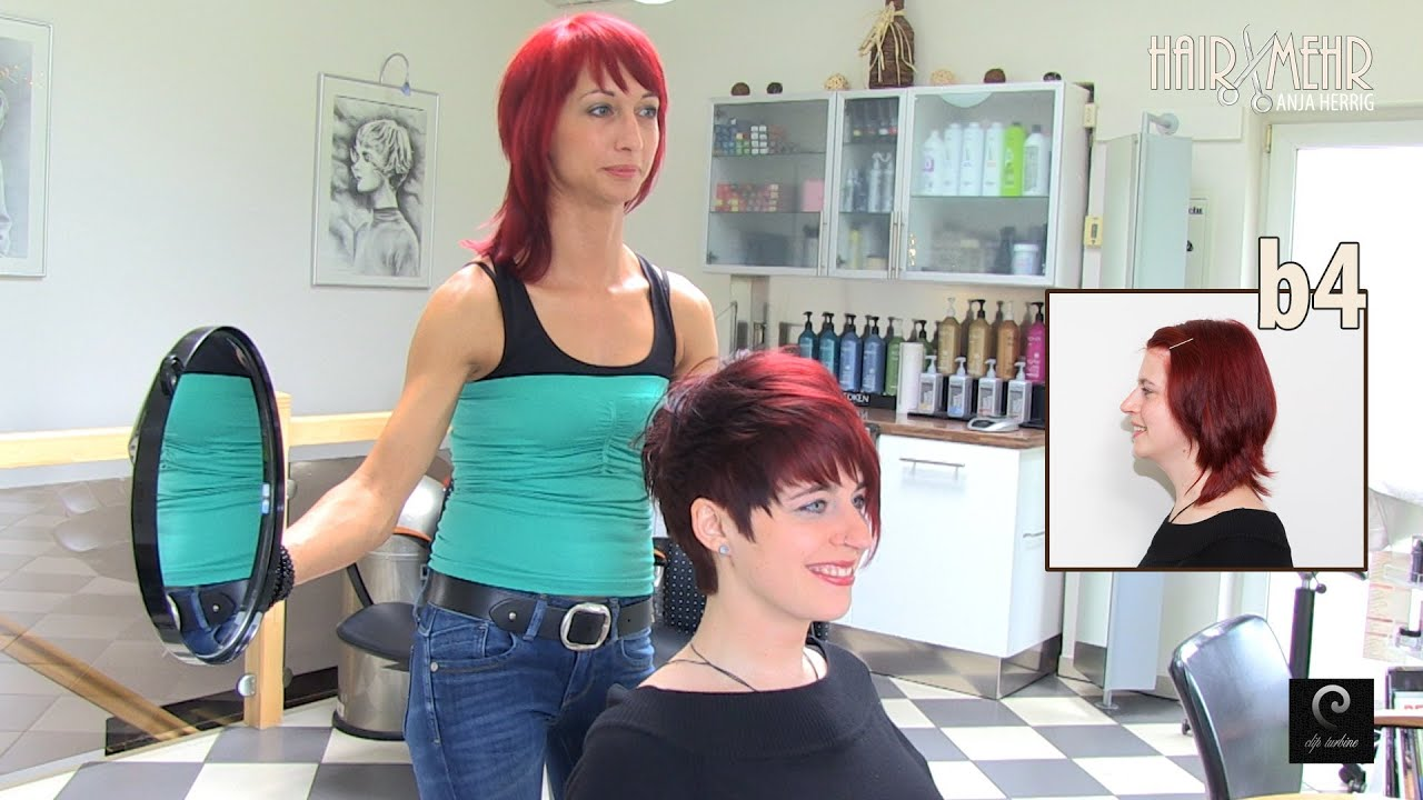 Extreme Pixie Short Haircut Makeover by Anja Herrig
