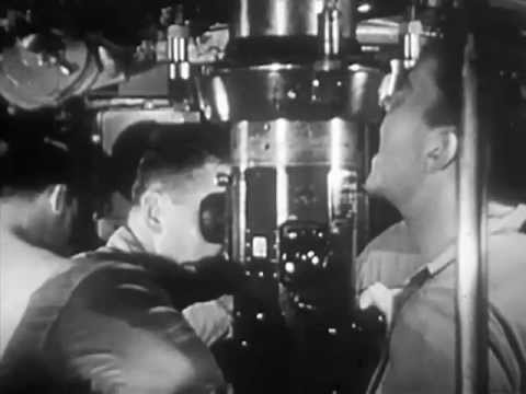 1954 Nuclear Powered Submarine: The Atom Goes To Sea (1954) - CharlieDeanArchives / Archival Footage