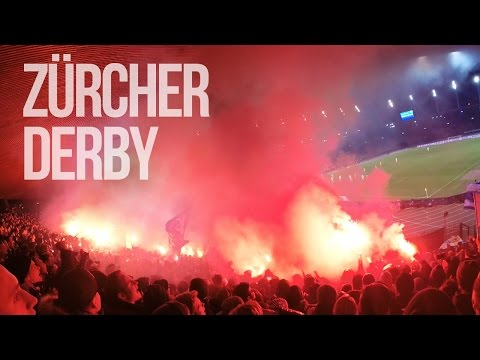 Zurich On Fire! - FC Zürich vs Grasshopper Club