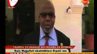 Rais Magufuli Apokea Ripoti ya CAG
