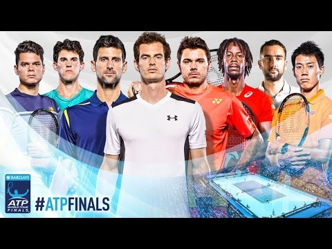 Barclays World Tour Finals Draw Ceremony Featuring Andy Murray, Gael Monfils and Dominic Thiem.