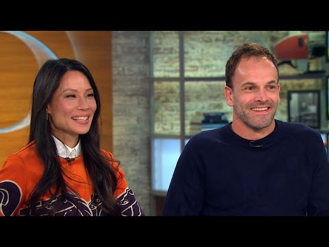 "Lucy Liu and Jonny Lee Miller on fifth season of ""Elementary"""