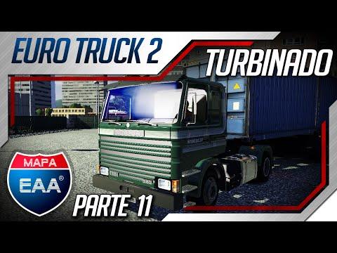 Euro Truck Simulator 2 - Mod Caminhão Scania 112H Frontal - Mod Mapa EAA: Serie Mapa EAA: Gameplay de Euro Truck Simulator 2 ,fazendo uma viagem no mapa EAA e mostrando a Scania Frontal quem no Mapa.   Compre já sua camiseta,acessem: http://tlesgames.com/loja/  ↓ Mais Informações ↓ ★VAMOS: Curtir ✔Comentar ✔Compartilhar ✔Inscrever-Se ✔★     Essa video  é um oferecimento de PSNGamesBH! Lançamentos PS3 a partir de 60 reais. Lançamentos PS4 a partir de 80 reais.  Site http://www.psngamesbh.com.br/  Fanpage: https://www.facebook.com/Psngamesbh   Site do Parceiro ETS2: http://www.eurotruck2.com.br  Redes Sociais:  Twitter: http://goo.gl/WXF0XF Facebook: http://goo.gl/JRq2h2   Instale o Aplicativo do canal para FireFox :http://goo.gl/L89t9a Instale o Aplicativo do canal para Chrome :http://goo.gl/CISxLz
