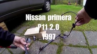 ABS johdon vaihto NISSAN Primera P11 ABS cable replacement NISSAN Primera P11