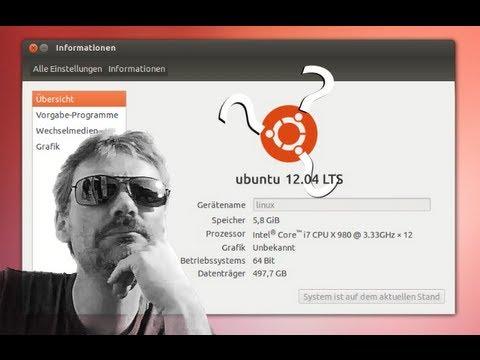 Ubuntu 12.04 LTS : Ein paar Grundlagen