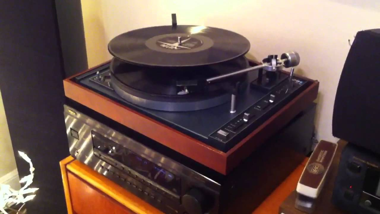 Old School B I C Bic Turntable Record Changer Back In