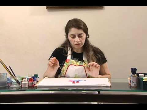 Aprenda A Fazer Pintura Em Pano De Prato Para O Natal Youtube