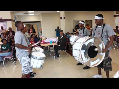 Scott high school drum line 2013