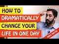 🚨HOW TO DRAMATICALLY CHANGE YOUR LIFE IN JUST ONE DAY🤔 - Nouman Ali Khan
