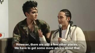 Tokio Hotel in Tokyo - ENG