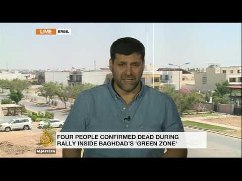 Funerals held for protesters killed in Baghdad's Green Zone