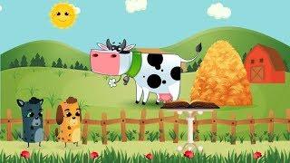 Животные на ферме | Мультик про животных на ферме | Мультик для самых маленьких серия 4