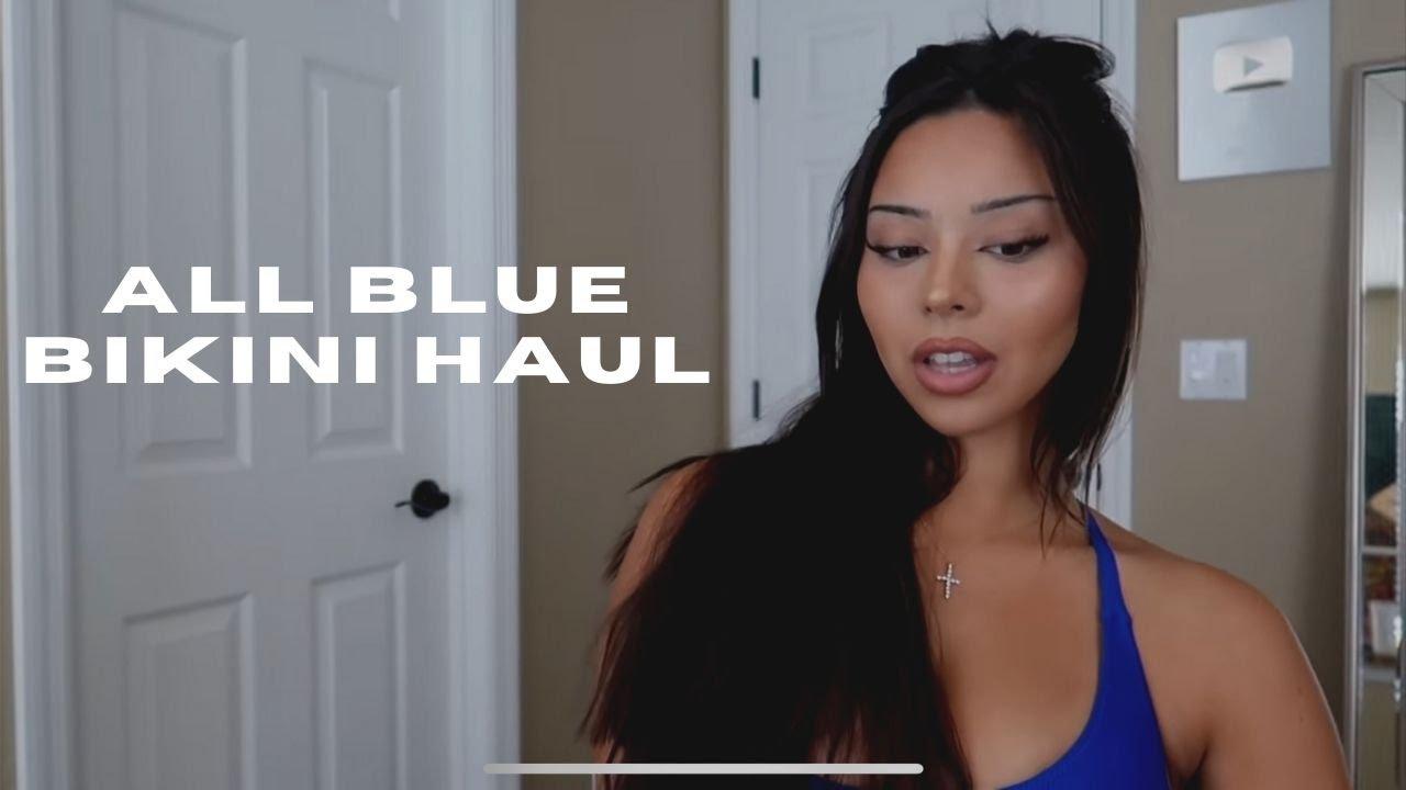 ALL BLUE SWIM HAUL | TIANA MUSARRA