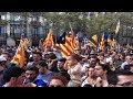 Les indépendantistes Catalans se mobilisent à Montpellier