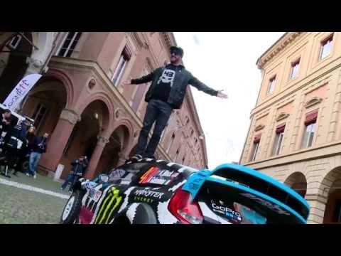 Ken Block a Bologna per IL Motor Show 2014