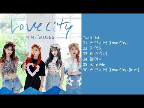 [Mini Album] 9MUSES (NINE MUSES) – MUSES DIARY PART.3 : LOVE CITY