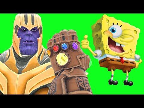 Can Thanos' INFINITY GAUNTLET Kill SPONGEBOB From Spongebob Squarepants In Gmod?