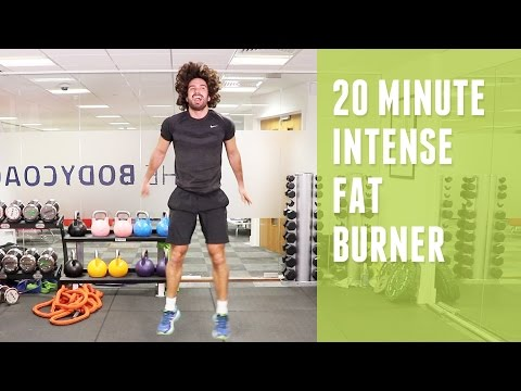 20 Minute Intense Fat Burner | Home HIIT | The Body Coach
