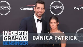 Danica Patrick on Aaron Rodgers: Finally a man who pays