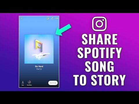 How to Share Spotify Song to Instagram Story