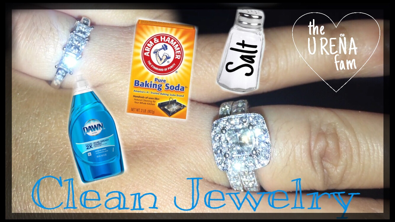 HOW TO CLEAN JEWELRY / DIY JEWELRY CLEANER - YouTube