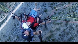 İlk Yamaç Paraşütü Atlayışım