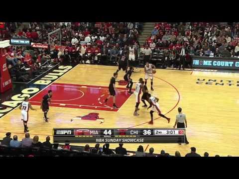 Miami Heat vs Chicago Bulls   Highlights   January 25, 2015   NBA Season 2014 15
