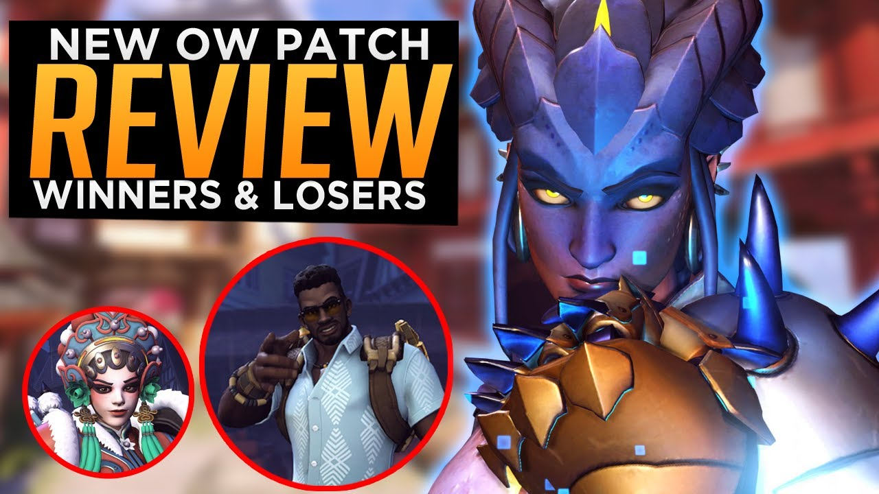 Overwatch: Mei Bap Sym Brig BUFFS! - Winners & Losers NEW Patch Review