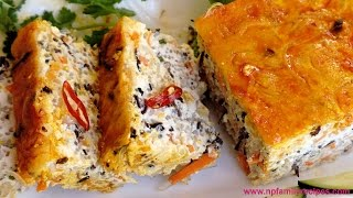 Vegetarian Steamed Meatloaf Recipe (Chả Hấp Chay) - NPFamily Recipe