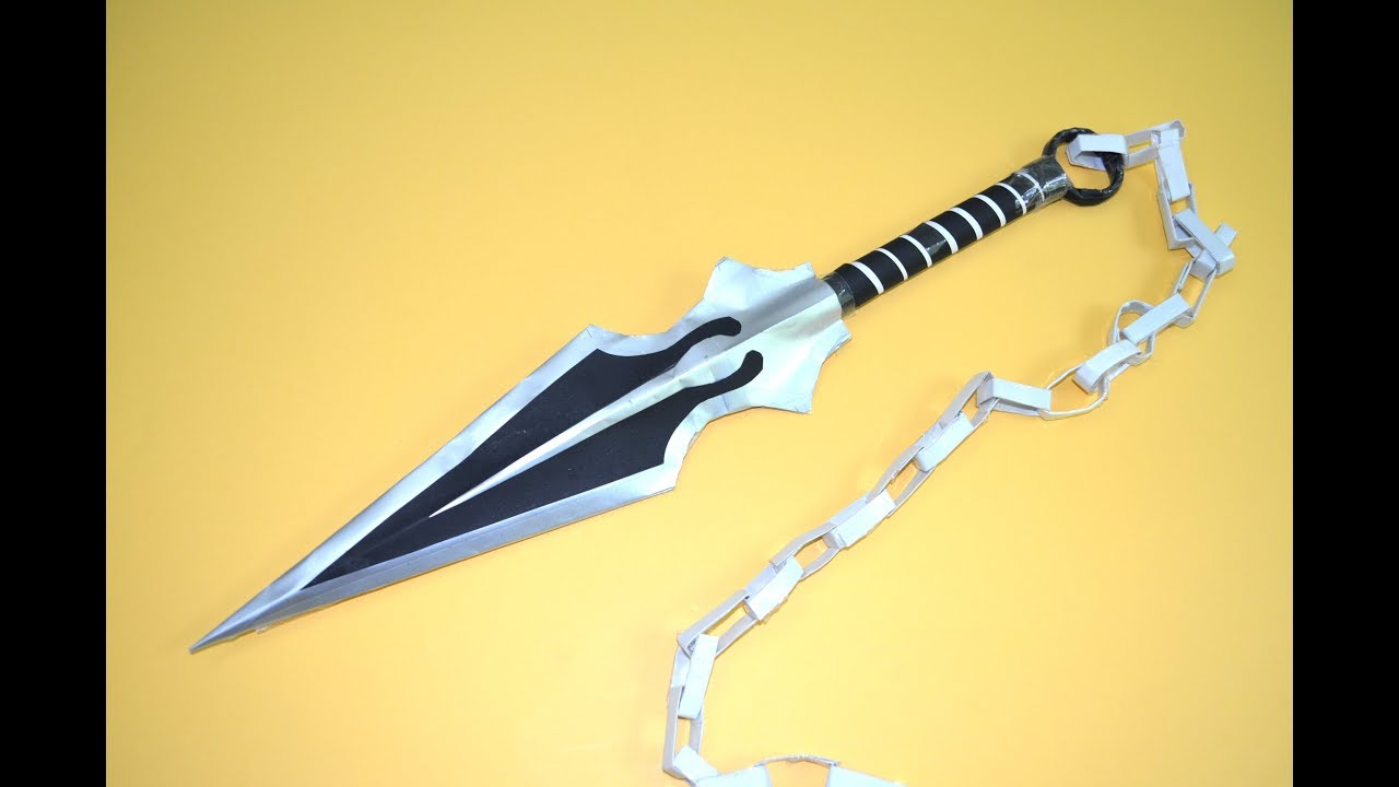 How To Make Kunai In Paper