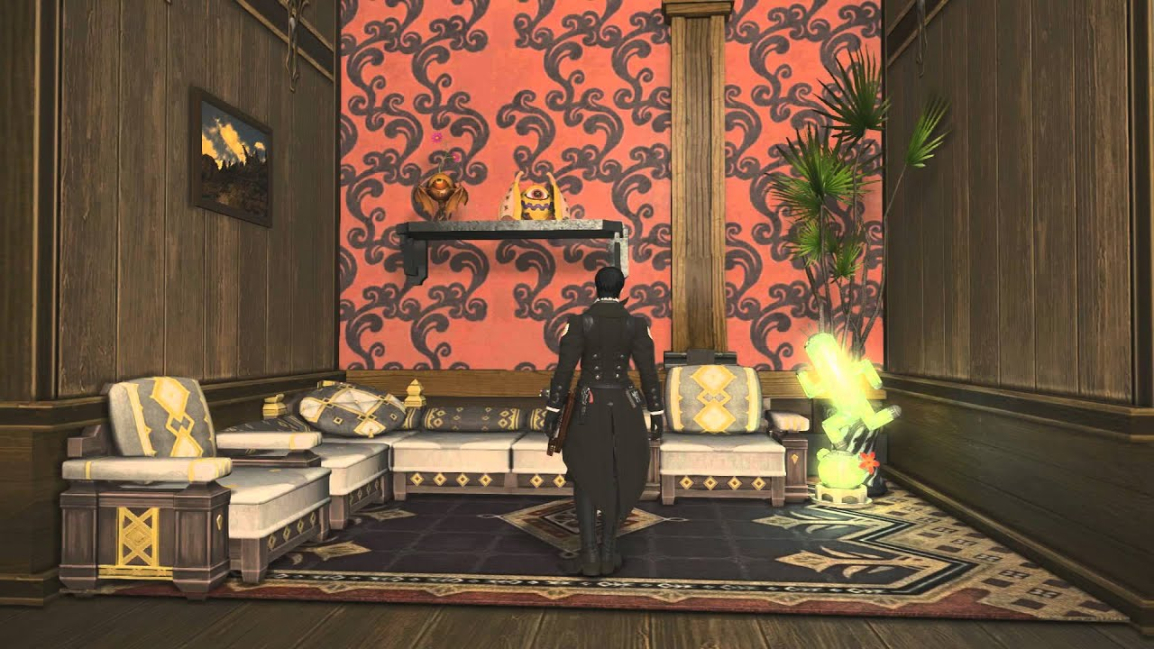 Ff14 kiisu 39 s room part 2 the power of walls youtube - Small apartment bedroom ideas ...
