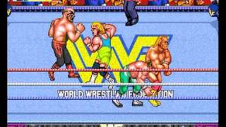 wwf royal rumble  arcade game