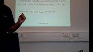 Nawal: Pulsar Experiment Lecture