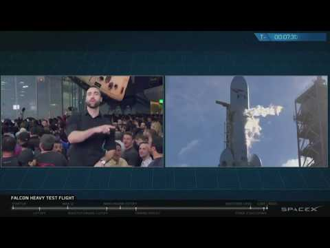 LIVE – First test flight for SpaceX's Falcon Heavy rocket