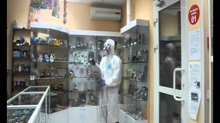 Уничтожение тараканов клопов холодным туманом.Биробиджан.(Компания