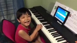 "5-year-old Renzo Plays ""Imagine"" on the Piano with the Simply Piano app by JoyTunes"