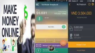 [SNAPBUCK] - Kiếm tiền với ứng dụng chụp ảnh SNAPBUCK 2016 - Kiếm 5$-50$ giản đơn!