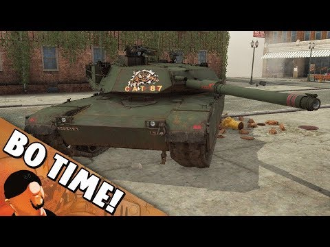 "War Thunder - IPM1 / M1 Abrams ""Rounds Complete!"""