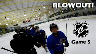 BLOWOUT!!  [GoPro Hockey 3 on 3 GAME 5]
