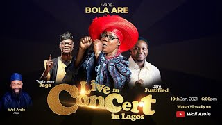 Evang Bola Are Live Concert hosted by Woli Arole