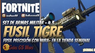 TIGRE Assault Rifle ? FORTNITE Weekly Shop Save the World