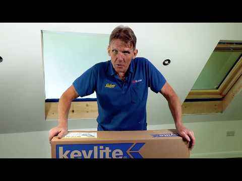 Keylite Roof Window From Box To Roof In 2 Minutes - SkillBuilder's Roger Bisby